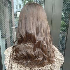ブルージュ ナチュラル ネイビージュ ネイビーブルー ヘアスタイルや髪型の写真・画像