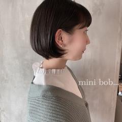 ショートボブ 大人可愛い ナチュラル おしゃれさんと繋がりたい ヘアスタイルや髪型の写真・画像