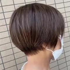 ショートカット 丸みショート ショートヘア ショート ヘアスタイルや髪型の写真・画像
