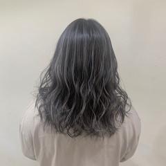 ホワイトブリーチ コントラストハイライト ハイライト 透け感ヘア ヘアスタイルや髪型の写真・画像
