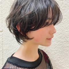 ボブ ショートヘア ハンサムショート ショートボブ ヘアスタイルや髪型の写真・画像