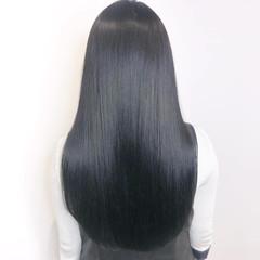 ナチュラル トリートメント ブルージュ ダークアッシュ ヘアスタイルや髪型の写真・画像
