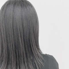 ブリーチ ミディアム 透明感カラー エレガント ヘアスタイルや髪型の写真・画像