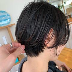 ショートボブ ストレート ショートヘア 大人可愛い ヘアスタイルや髪型の写真・画像