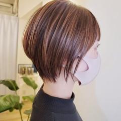 ショート ヘアカット 大人女子 コンパクトショート ヘアスタイルや髪型の写真・画像