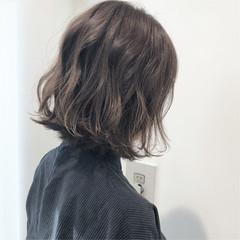 透明感 ナチュラル 切りっぱなし デート ヘアスタイルや髪型の写真・画像