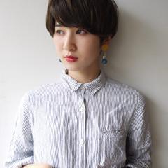 女子力 ショート コンサバ 色気 ヘアスタイルや髪型の写真・画像