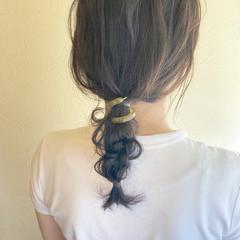 フェミニン ゆる巻き ロング ゆるい ヘアスタイルや髪型の写真・画像