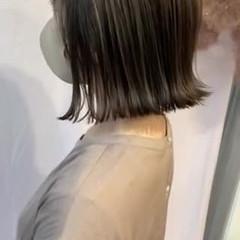 ボブ 外ハネボブ ショートボブ ミニボブ ヘアスタイルや髪型の写真・画像