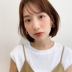ナチュラル ひし形シルエット デジタルパーマ アンニュイほつれヘア ヘアスタイルや髪型の写真・画像
