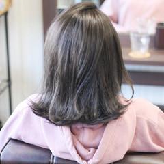 ナチュラル 縮毛矯正 透明感カラー 圧倒的透明感 ヘアスタイルや髪型の写真・画像