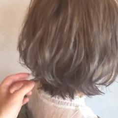 フェミニン 外ハネ ヘアアレンジ デート ヘアスタイルや髪型の写真・画像