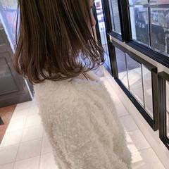 ハイライト アンニュイほつれヘア ゆるふわ 女子力 ヘアスタイルや髪型の写真・画像