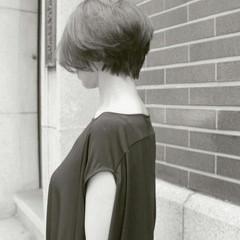 ショート 大人女子 小顔 こなれ感 ヘアスタイルや髪型の写真・画像