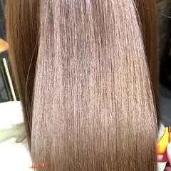 髪質改善トリートメント ナチュラル ロング 最新トリートメント ヘアスタイルや髪型の写真・画像