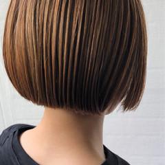 簡単スタイリング ノースタイリング ミニボブ ボブ ヘアスタイルや髪型の写真・画像