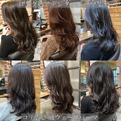 無造作パーマ ゆるふわパーマ デジタルパーマ パーマ ヘアスタイルや髪型の写真・画像
