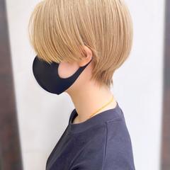大人かわいい ショートボブ ショート 簡単スタイリング ヘアスタイルや髪型の写真・画像