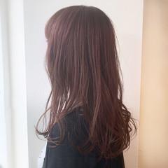セミロング ナチュラル モテ髮シルエット アディクシーカラー ヘアスタイルや髪型の写真・画像