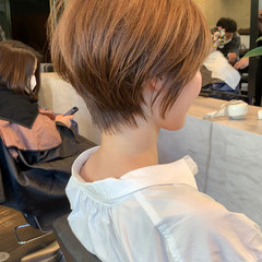 吉瀬美智子 ナチュラル ショートボブ ハンサムショート ヘアスタイルや髪型の写真・画像