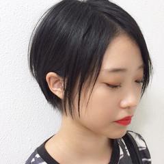 ショート 透明感 小顔 スポーツ ヘアスタイルや髪型の写真・画像