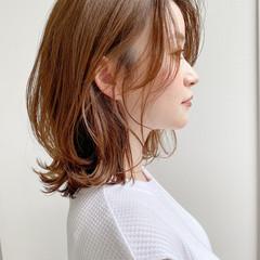 くびれボブ ボブ デート ナチュラル ヘアスタイルや髪型の写真・画像