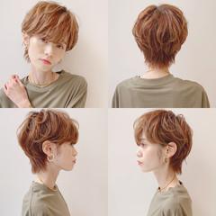 フェミニン アウトドア ショート スポーツ ヘアスタイルや髪型の写真・画像