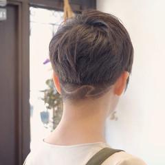 ツーブロック ベリーショート 刈り上げ 刈り上げショート ヘアスタイルや髪型の写真・画像