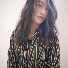 ラベンダーアッシュ 外国人風 外国人風フェミニン ストリート ヘアスタイルや髪型の写真・画像