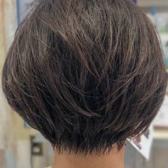 アンニュイほつれヘア フェミニン ショートボブ 小顔ショート ヘアスタイルや髪型の写真・画像