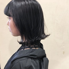 透明感カラー ラベンダーグレー グレー ナチュラル ヘアスタイルや髪型の写真・画像