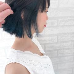 ストリート インナーカラー 女子力 透明感 ヘアスタイルや髪型の写真・画像