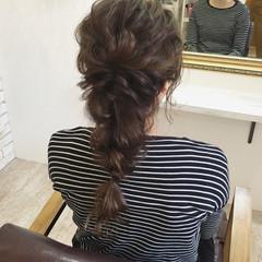 ヘアアレンジ 秋 ナチュラル 女子力 ヘアスタイルや髪型の写真・画像