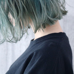 ショートヘア 外ハネボブ ナチュラル ボブ ヘアスタイルや髪型の写真・画像