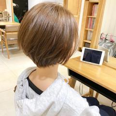 ショート ナチュラル 簡単ヘアアレンジ ヘアアレンジ ヘアスタイルや髪型の写真・画像