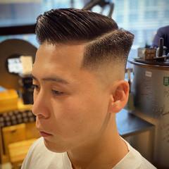 刈り上げ スキンフェード メンズヘア 刈り上げショート ヘアスタイルや髪型の写真・画像