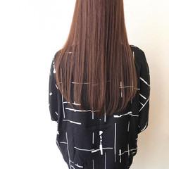 ロング ストレート 大人ロング 縮毛矯正 ヘアスタイルや髪型の写真・画像