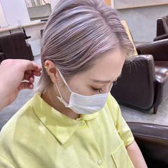 ハイトーン ヘアカラー ショート ショートヘア ヘアスタイルや髪型の写真・画像