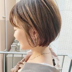 ゆるふわ 大人かわいい デート ショート ヘアスタイルや髪型の写真・画像