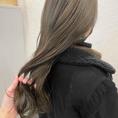 ナチュラル ベージュ ミルクティーベージュ アッシュベージュ ヘアスタイルや髪型の写真・画像