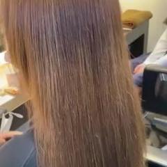 髪質改善トリートメント ストレート 髪質改善 髪質改善カラー ヘアスタイルや髪型の写真・画像