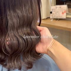 ミディアム 結婚式ヘアアレンジ ミニボブ 透明感カラー ヘアスタイルや髪型の写真・画像