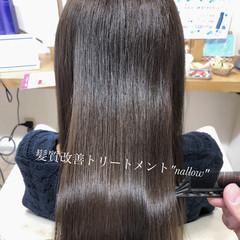 髪質改善トリートメント 最新トリートメント トリートメント 圧倒的透明感 ヘアスタイルや髪型の写真・画像