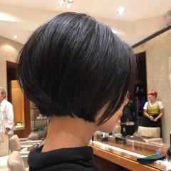 ミニボブ 大人女子 まとまるボブ コンサバ ヘアスタイルや髪型の写真・画像