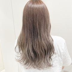 ミルクティーグレージュ ミルクティー ロング ミルクティーアッシュ ヘアスタイルや髪型の写真・画像