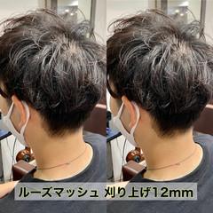 メンズ ショートヘア メンズマッシュ ナチュラル ヘアスタイルや髪型の写真・画像