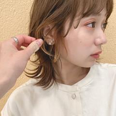 ミルクティーベージュ ボブ レイヤーボブ ストリート ヘアスタイルや髪型の写真・画像