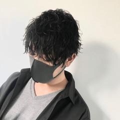 メンズヘア メンズマッシュ ストリート メンズパーマ ヘアスタイルや髪型の写真・画像