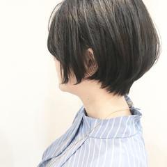 ベリーショート デート 小顔ショート ショート ヘアスタイルや髪型の写真・画像