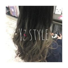 ブリーチ セミロング 外国人風カラー 女子力 ヘアスタイルや髪型の写真・画像